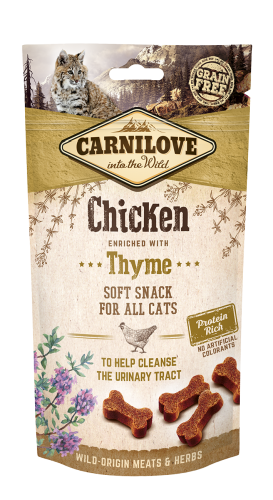 Carnilove® Snack Fresh & Crunchy Chicken enriched with Thyme