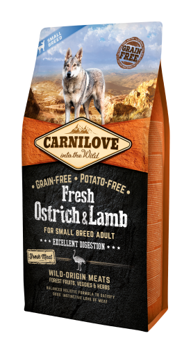 Carnilove® Adult Small Fresh Ostrich & Lamb