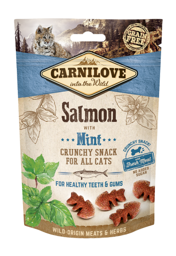 Carnilove® Cat Snack Fresh & Crunchy Salmon with Mint