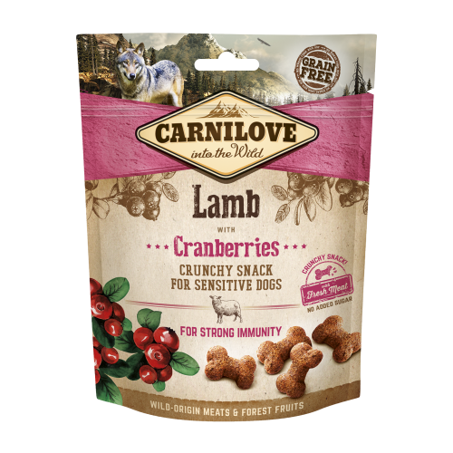 Carnilove® Snack Fresh & Crunchy Lamb with Cranberries