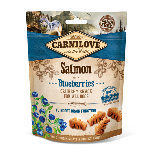 Carnilove® Snack Fresh & Crunchy Salmon with Blueberries