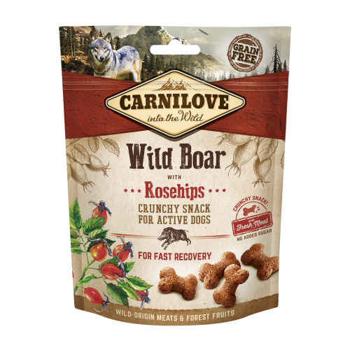 Carnilove® Snack Fresh & Crunchy Wild Boar with Rosehips