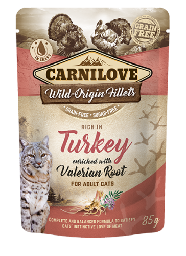 Carnilove® Pouches Turkey enriched with Valerian Root