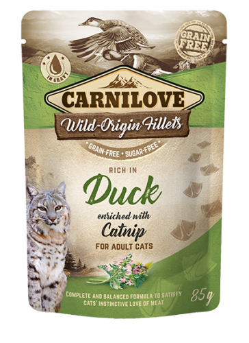 Carnilove® Pouches Duck enriched with Catnip