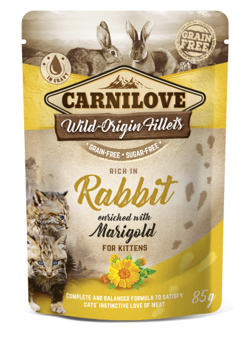 Carnilove® Pouches Rabbit enriched with Marigold