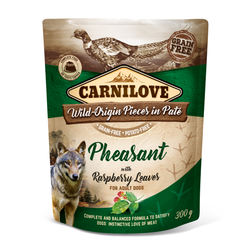 Carnilove® Pouches Pheasant with Raspberry Leaves