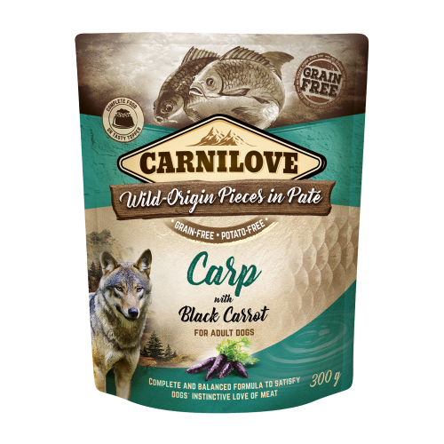 Carnilove® Pouches Carp with Black Carrot