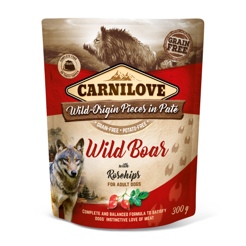 Carnilove® Pouches Wild Boar with Rosehips