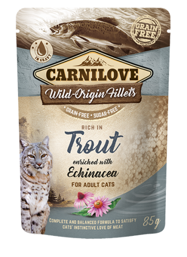 Carnilove® Pouches Trout enriched with Echinacea